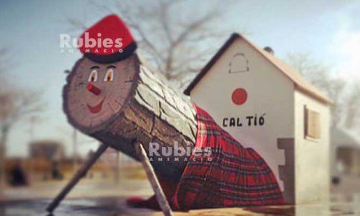 tradicions catalanes de Nadal: tio de nadal gegant