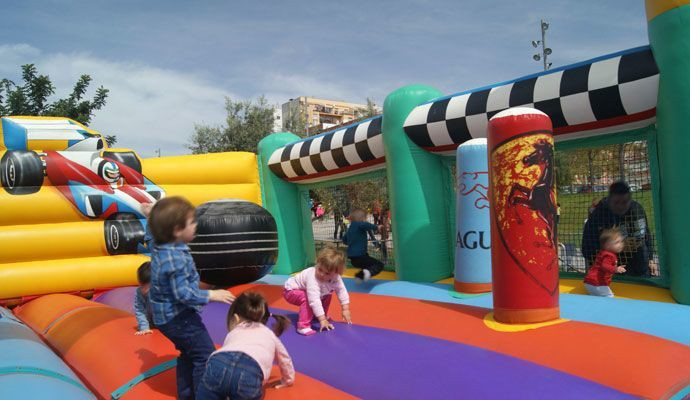 Inflable Grand Prix F1