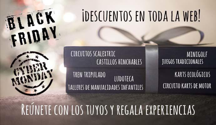 descuentos black friday cyber monday
